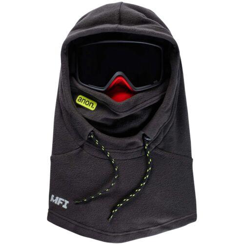 Men's MFI Fleece Helmet Hood Black Pop