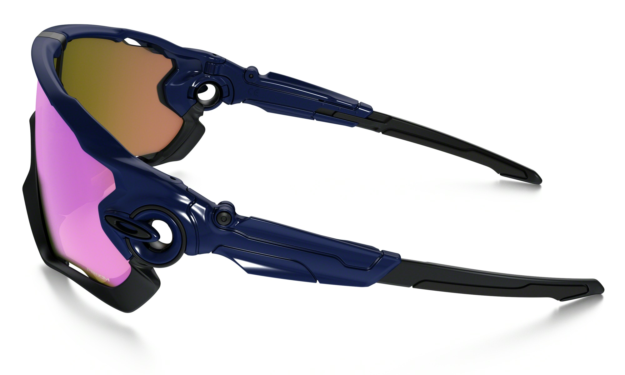 Oakley Jawbreaker Polished Navy Prizm Trail
